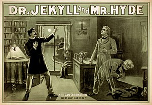 Urban Gothic - Poster for Strange Case of Dr Jekyll and Mr Hyde from the 1880s