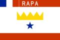 Drapeau de Rapa (Polynésie Française) (actuel).png