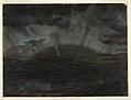 Drawing, Aurora Borealis, Mt. Desert Island, from Bar Harbor, Maine, September 1860 (CH 18194151).jpg