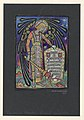 Drawing, Design for Stained Glass Memorial Window to Thomas J. Post, 1919 (CH 18458637-2).jpg