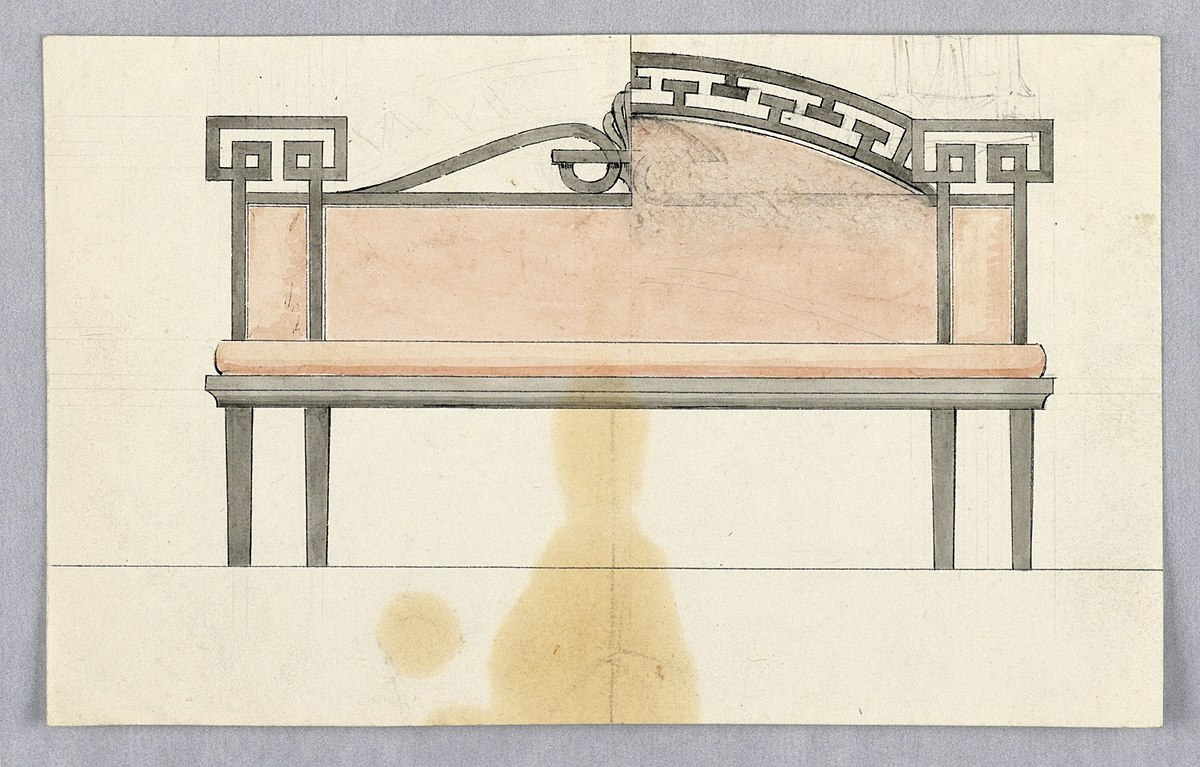 File:Drawing, Design for a Sofa with Alternative ...