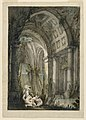 Drawing, Stage Design, Nymphs Bathing in Grotto, 1780 (CH 18357113).jpg