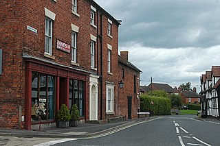 Hodnet, Shropshire village and civil parish in Shropshire, England