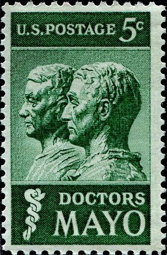 Charles Horace Mayo - Doctors Mayo stamp