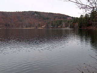 Dublin Pond Lake in Cheshire County, New Hampshire