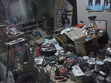 Reconstruction of the Francis Bacon Studio at the Hugh Lane Gallery