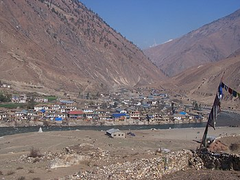English: Dunai, Dolpo, Nepal