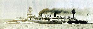 French cruiser Dupuy de Lôme - Dupuy de Lôme before her 1902 refit