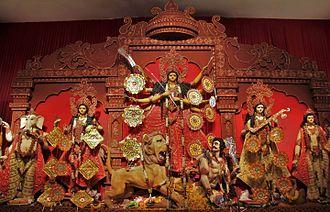 Durga Puja - Image: Durga Puja 2015