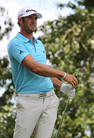 Dustin Johnson - Johnson at the 2011 U.S. Open
