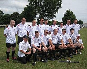 British baseball - The English (EBA) team