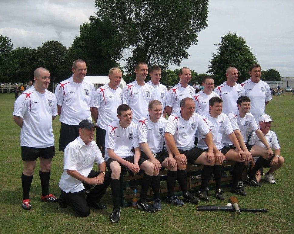 EBU Team facing Wales in 2006