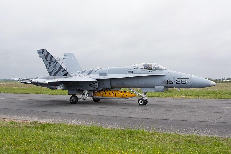 Tiger Meet Cambrai (France), 17 May 2011.  ALA 15 is based at Zaragoza and a member since 2006.