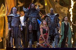 I Lordi all'Eurovision Song Contest 2016