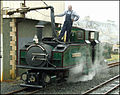 Earl of Merioneth taking water at Blaenau Ffestiniog.jpg