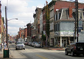 South Side Flats (Pittsburgh) - East Carson and 13th in 2008.