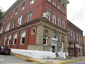 East Brady, Pennsylvania - A street in East Brady