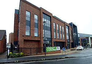 East Riding College - East Riding College, Armstrong Way, Beverley. Building opened in September 2015. Taken 19 October 2017.