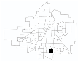 Eastview location map