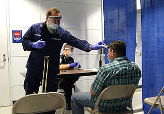 Ebola virus cases in the United States - Ebola screening of a passenger who arrived from Sierra Leone at Chicago's O'Hare airport