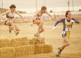 Ed Eyestone Athletics competitor, long distance runner