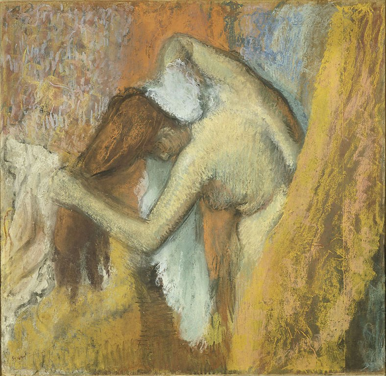 Edgar Degas - Woman at Her Toilette