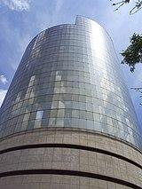 Sede de la empresa Argos, líder de la industria cementera colombiana.