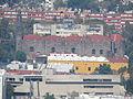 Edificios y templo de Tlatelolco desde la Torre Latinoamericana, CDMX 02.JPG