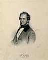 Eduard Fenzl. Lithograph by A. Prinzhofer, 1849. Wellcome V0001885.jpg