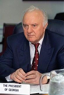 Eduard Shevardnadze Georgian politician and diplomat