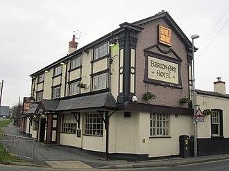 Bache, Cheshire - Image: Egerton Arms Hotel, Bache (1)