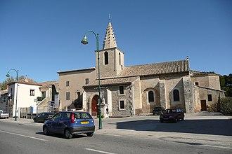 Sénas - The church in Sénas