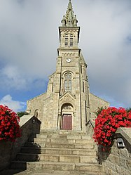 The church in Saint-Donan