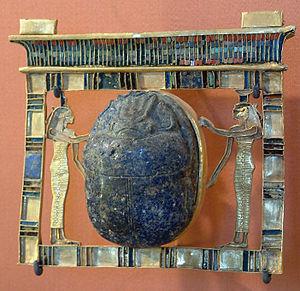 Paser (vizier) - Image: Egypte louvre 090 pendentif