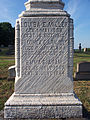Ehrstein-Ernwein Obelisk, St. Paul's Lutheran Cemetery (Mount Oliver), 2015-08-23, 05.jpg