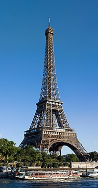Eiffel Tower from north Avenue de New York, Aug 2010.jpg