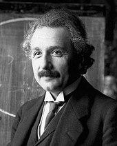 อัลเบิร์ต ไอน์สไตน์ ในปี ค.ศ.1921
