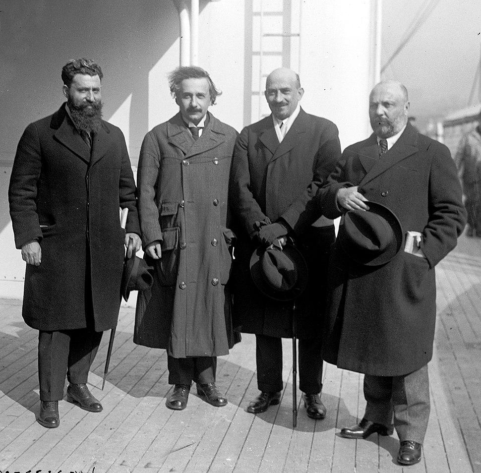 Einstein Apr.1921 SS Rotterdam 32100