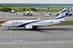 El Al Israel Airlines, 4X-EKS, Boeing 737-8HX (15834591964) (2).jpg