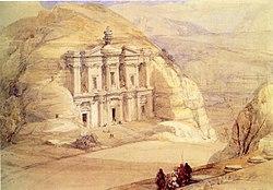 El deir petra 1 1839
