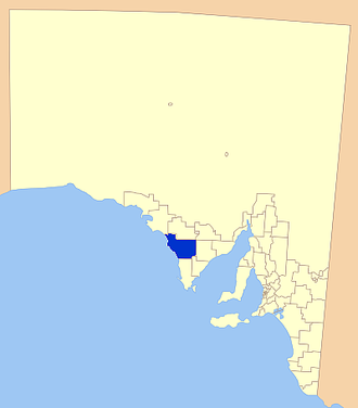 District Council of Elliston - Location of the District Council of Elliston