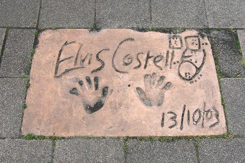 Elvis Costello - European Walk of Fame