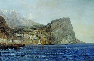 Küstenlandschaft in Dalmatien