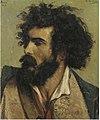 Emile Wauters - Bearded Italian man.Jpeg