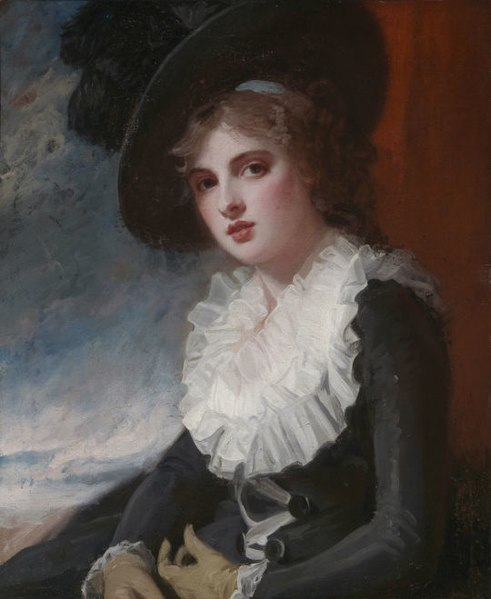 File:Emma Hart, later Lady Hamilton, George Romney ...