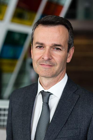 Fichier:Emmanuel Couet, président de Rennes Métropole, septembre 2014.jpg