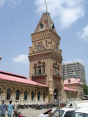 Saddar Town - Saddar features several examples of British colonial architecture, such as the Empress Market.