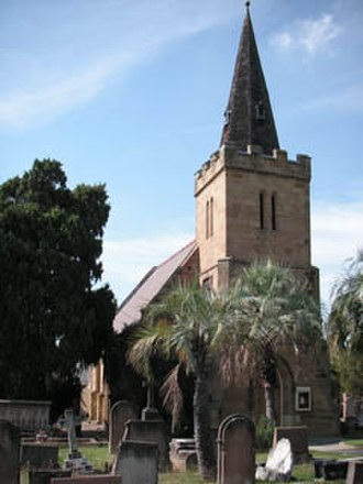 Enfield, New South Wales - St Thomas's Anglican Church (1848)