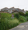 Entering Strete on the A359 - geograph.org.uk - 1622354.jpg