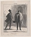 Entering and leaving the exhibition- Studies from life, from 'News of the day,' published in Le Charivari, May 15, 1867 MET DP877617.jpg